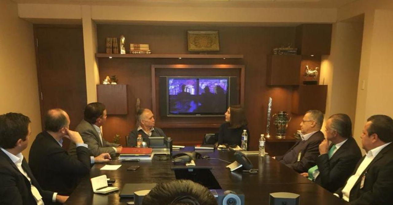 Presidenta de Coparmex en Querétaro se reúne con Alfonso Romo