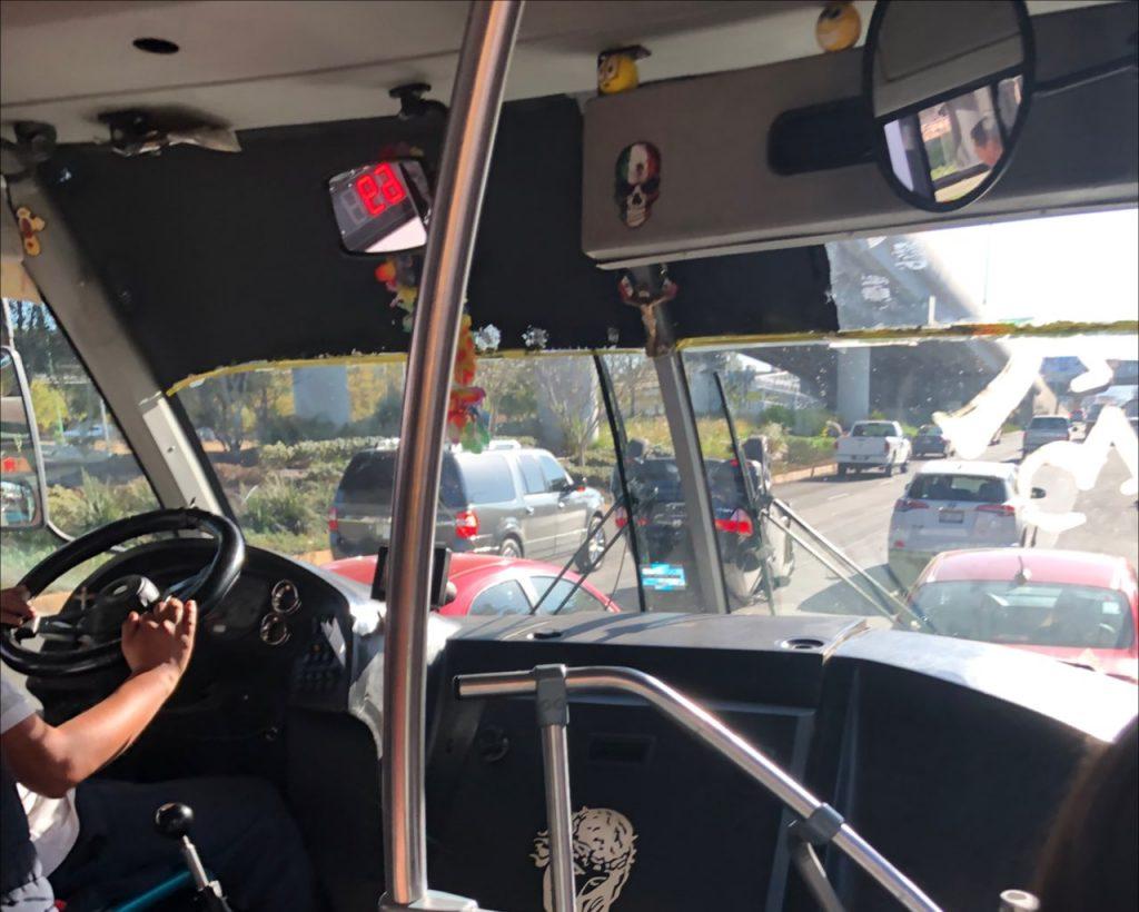 autobús camión transporte público