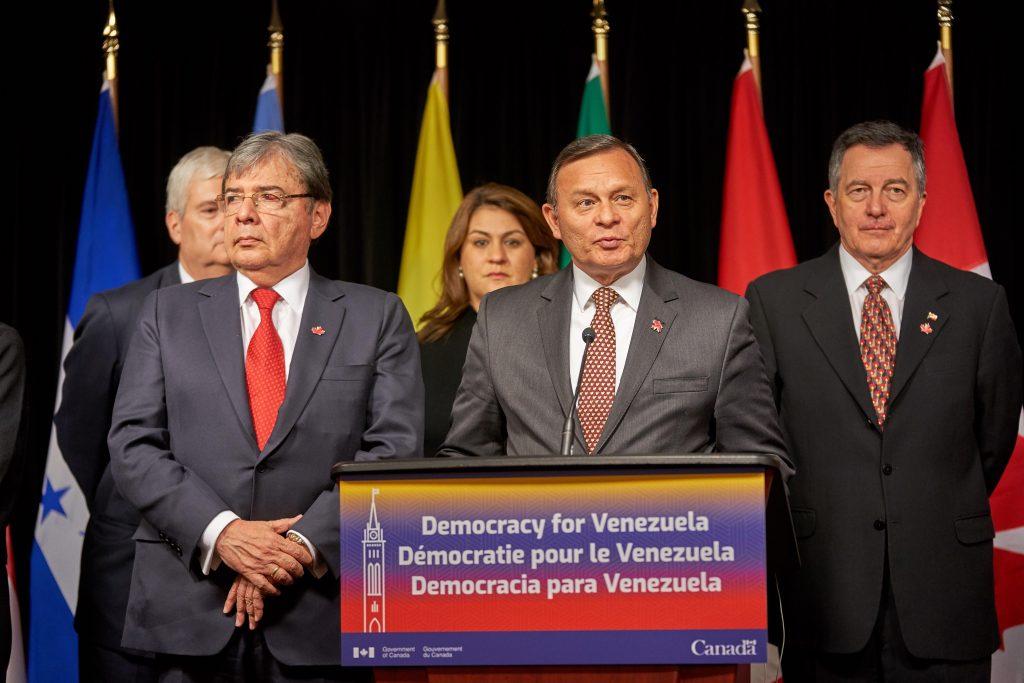 Grupo de Lima pide a Fuerza Armada venezolana que muestre