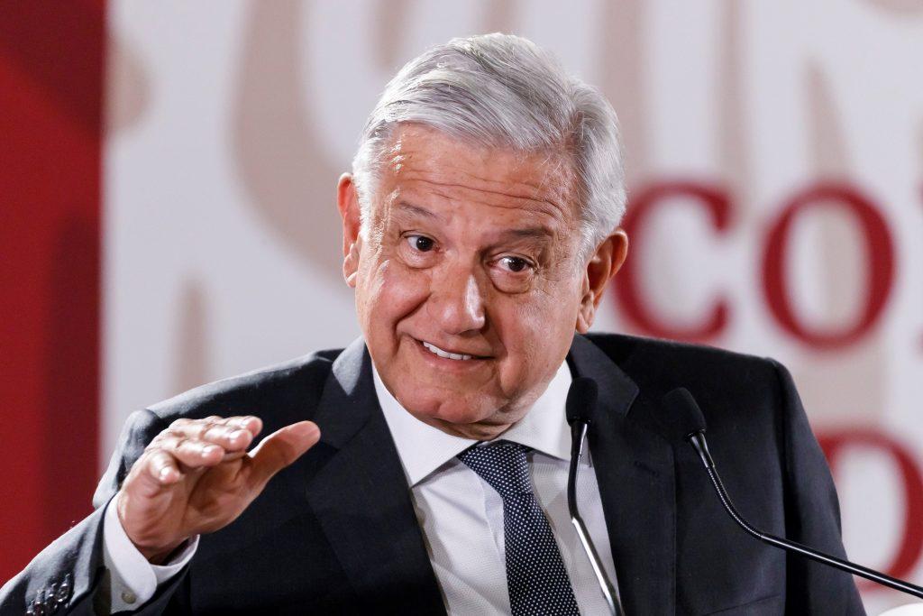 Rueda de prensa de López Obrador, en Ciudad de México