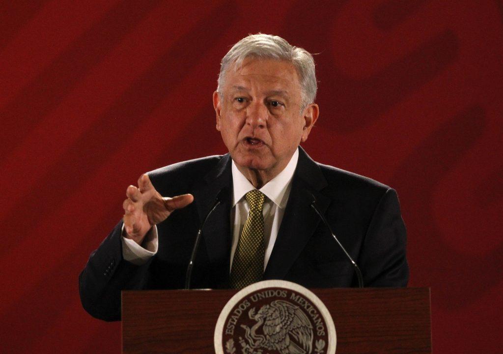 López Obrador en rueda de prensa