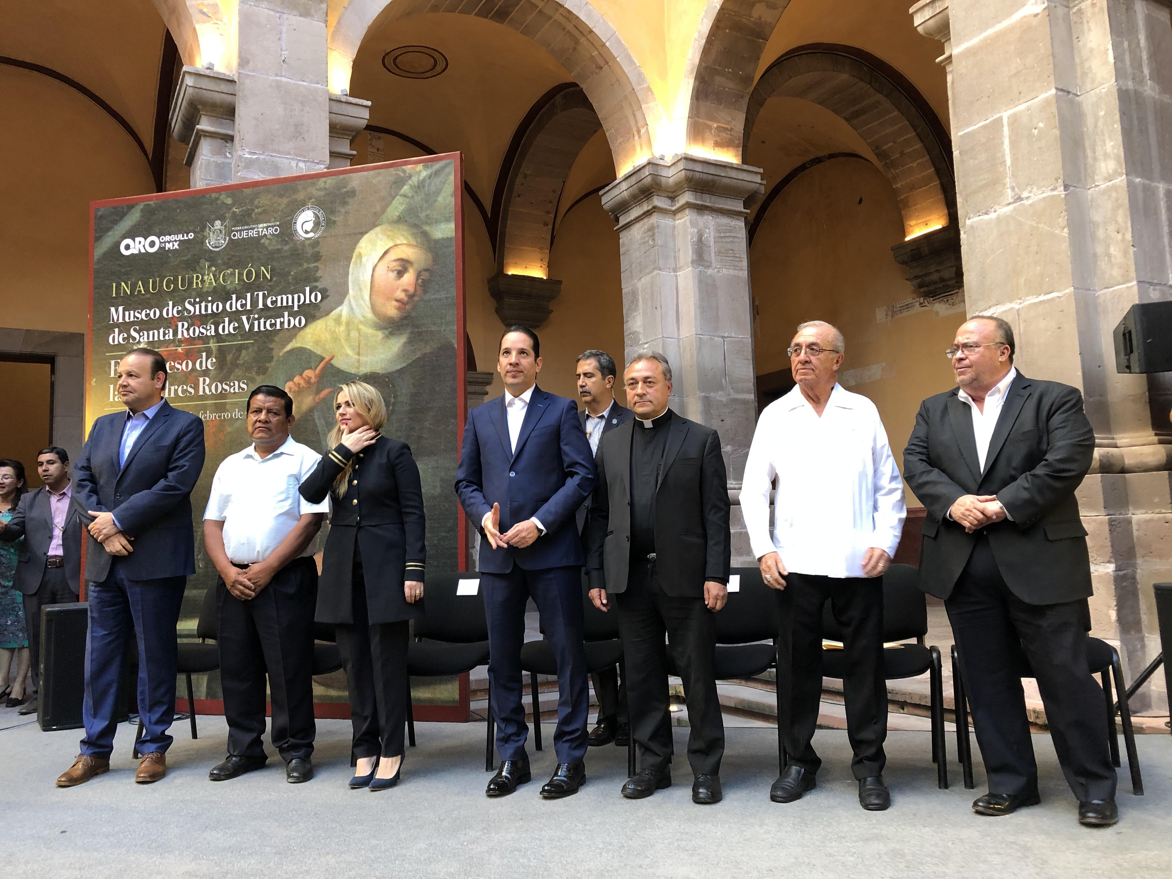 Inauguran Museo del Sitio en Santa Rosa de Viterbo