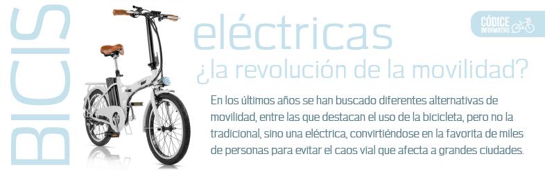 Bicis eléctricas ¿La revolución de movilidad?