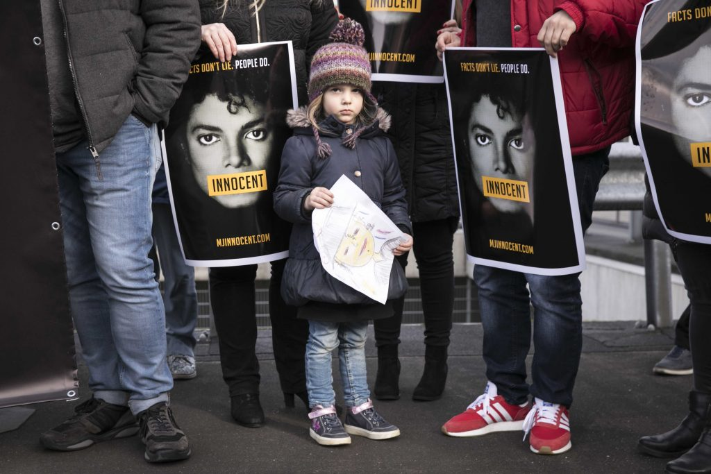 Protests against airing of Michael Jackson documentary in Hilversum