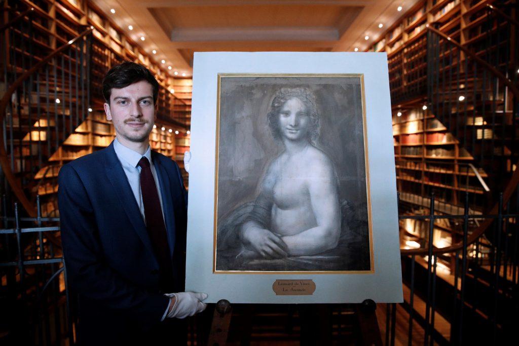 Leonardo desnudó a la Gioconda