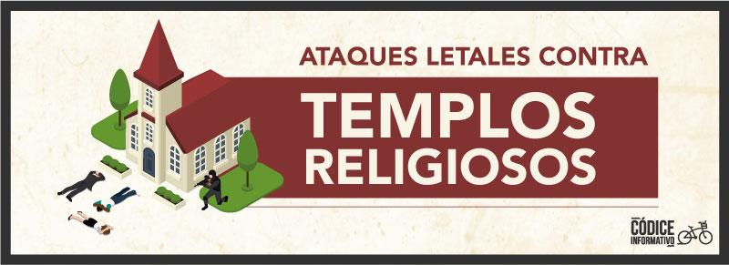 Ataques letales contra Templos Religiosos