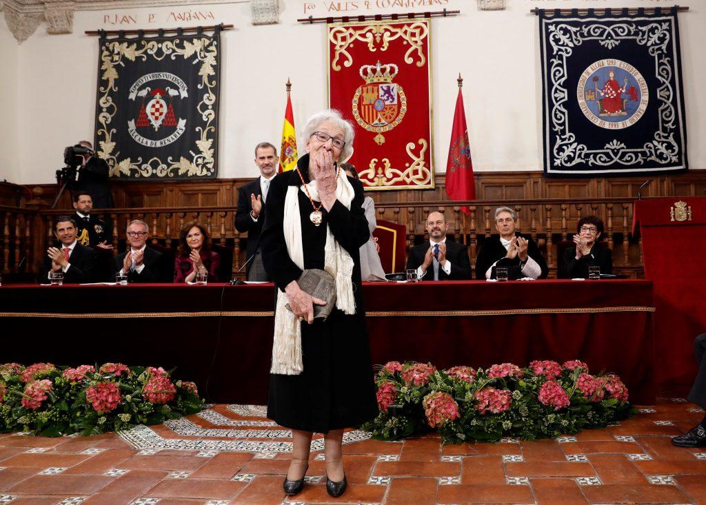 Acto de entrega del Premio Miguel de Cervantes 2018