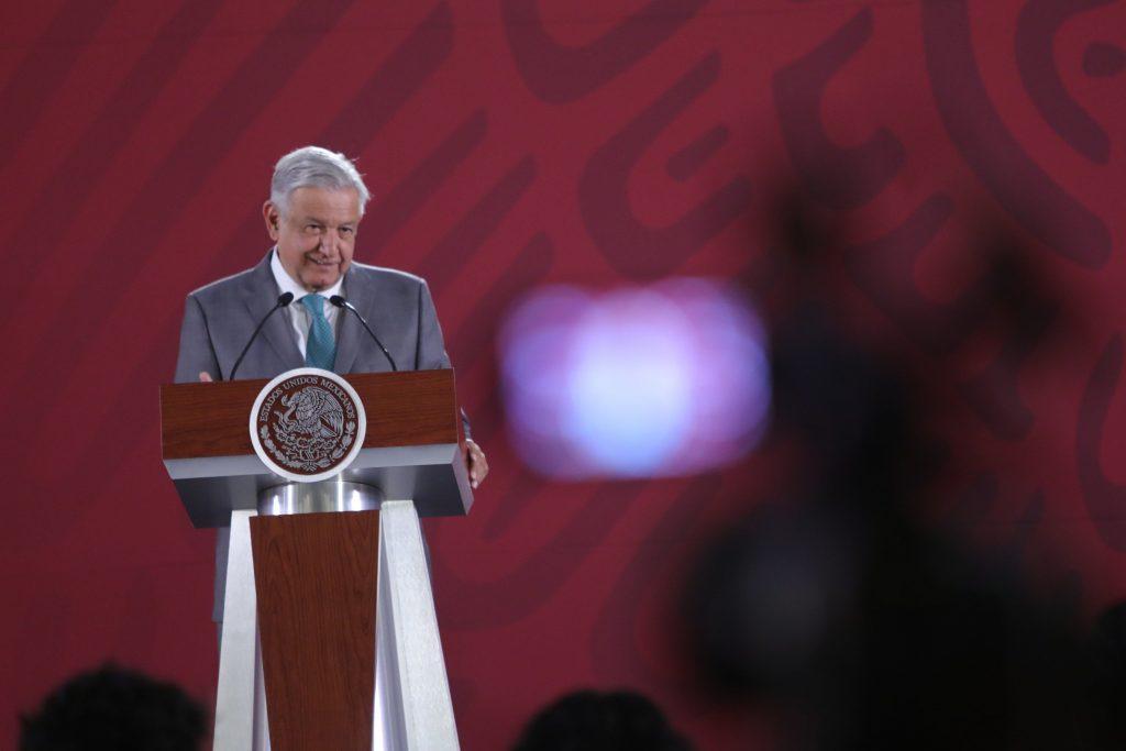 Rueda de prensa matutina de Andrés Manuel López Obrador en Ciudad de México