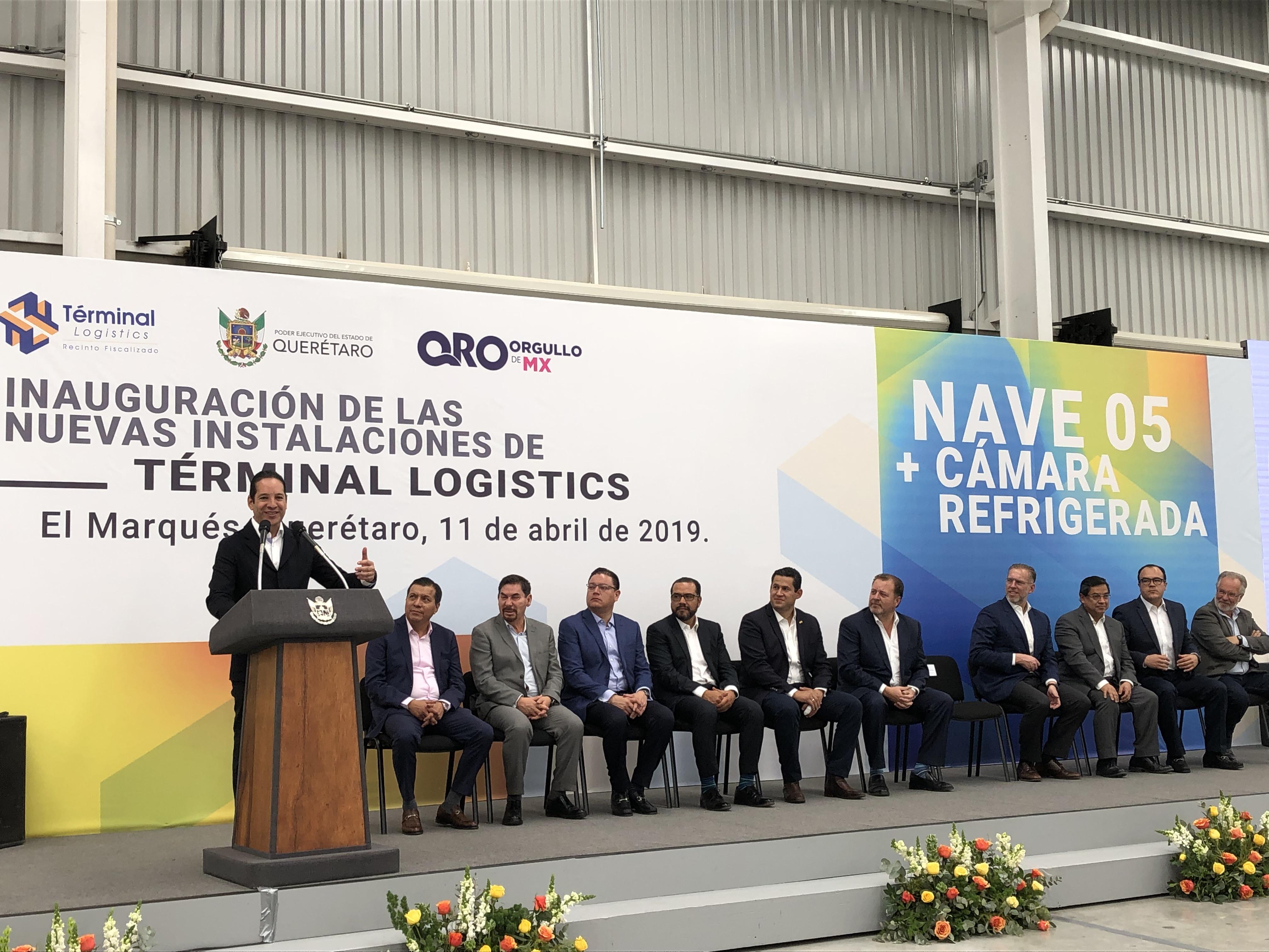 Reitera Pancho Domínguez que AIQ tiene todo para ser sede alterna del AICM