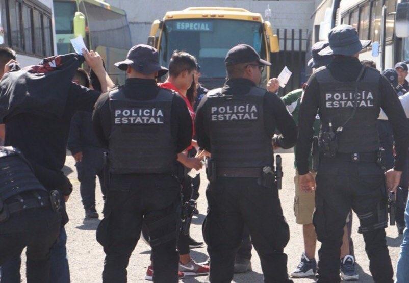 Dos personas detenidas, saldo de encuentro entre Gallos y Toluca
