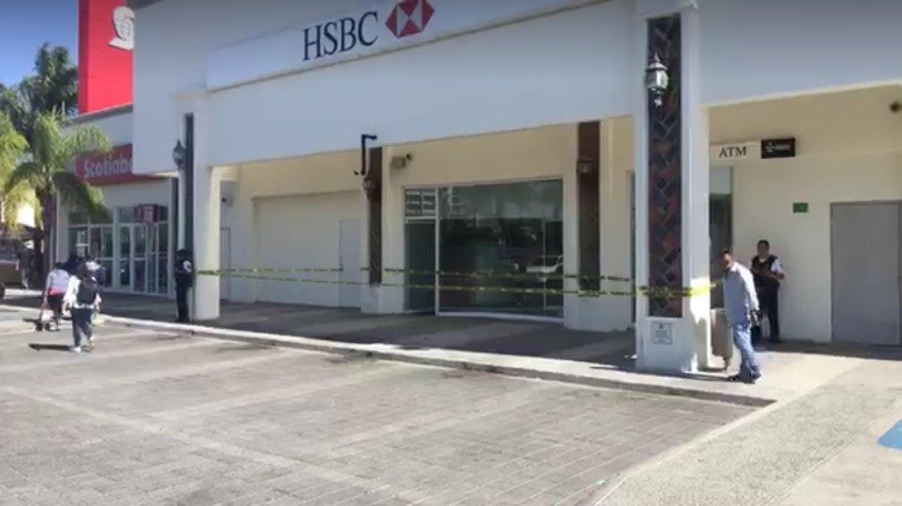 Tras asalto a empresa de valores, autoridades de seguridad implementan operativo de búsqueda