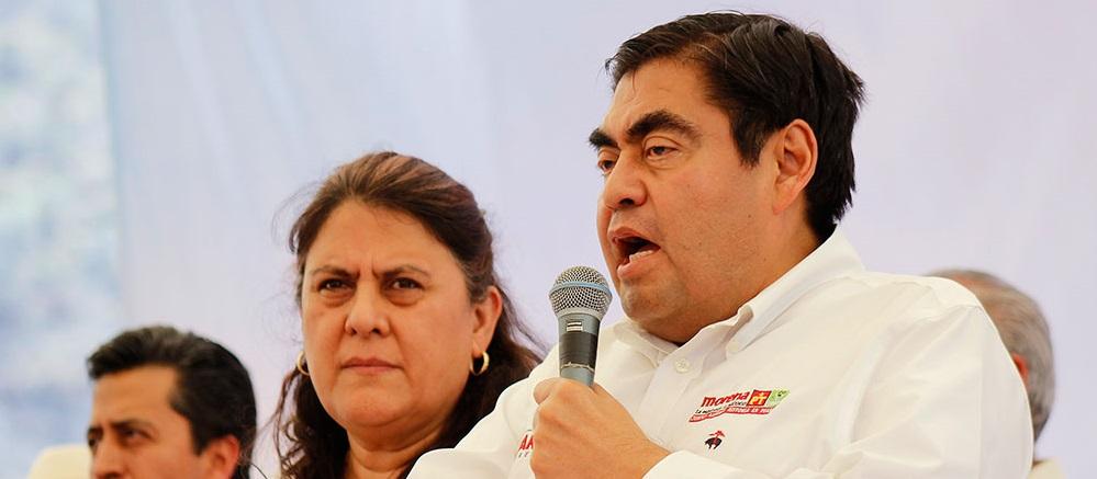INE avala a Miguel Barbosa como candidato a gubernatura de Puebla