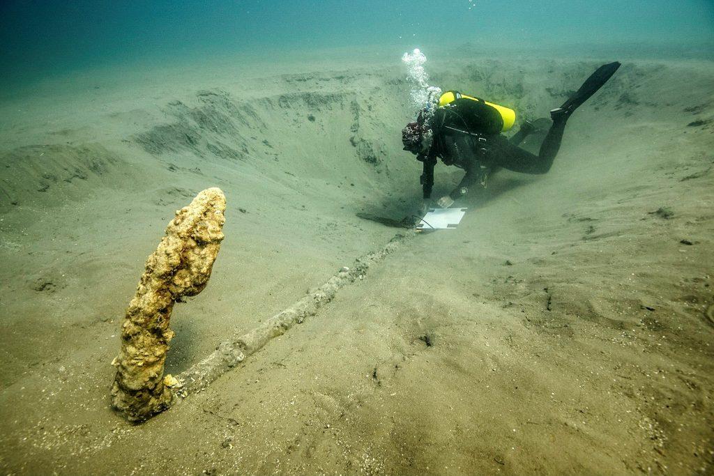 Arqueólogos hallan ancla en el lugar donde Cortes hundió sus naves