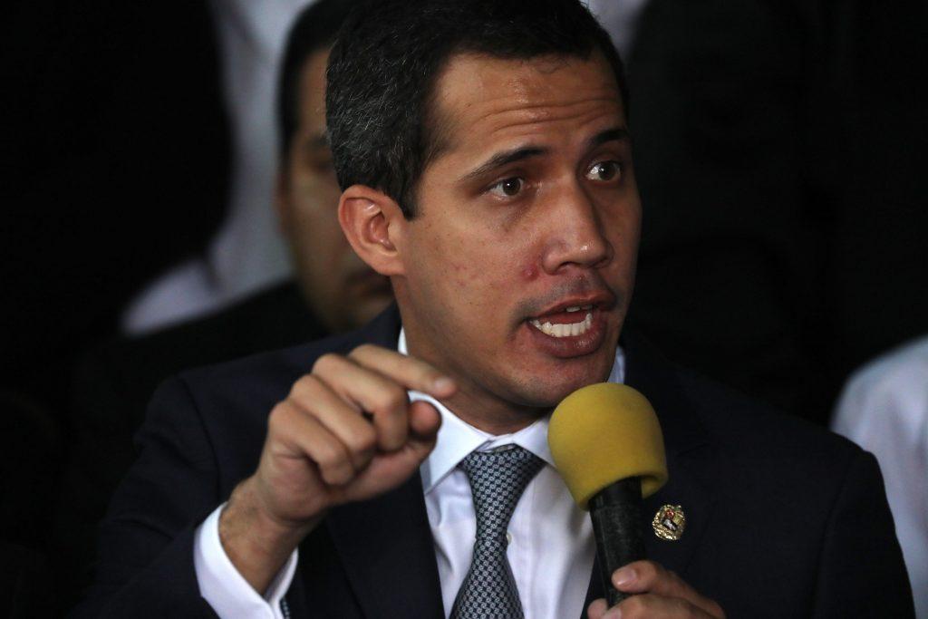 Rueda de prensa de Juan Guaidó