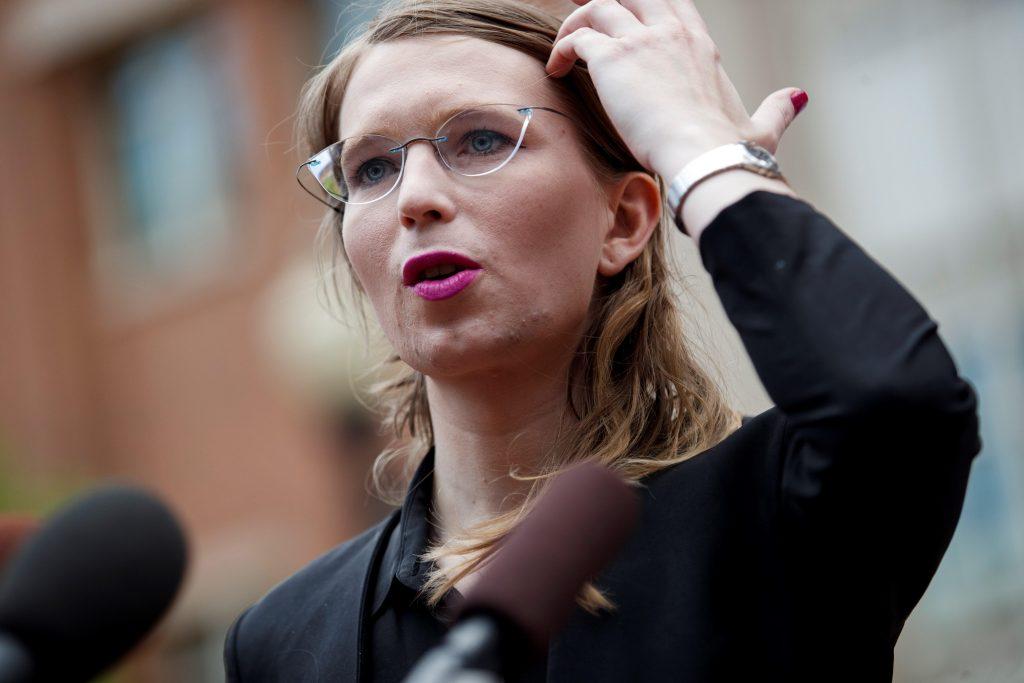Presentación de Chelsea Manning ante gran jurado