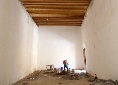 Realiza SDUOP trabajos de restauración en el Museo de la Ciudad