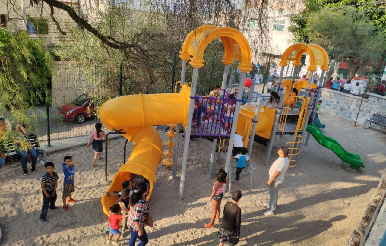 Con inversión de 5 mdp, Gobierno Estatal remodela parque de Las Peñas