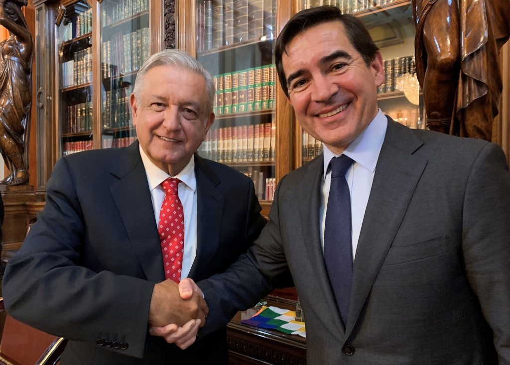Presidente de BBVA se reúne con López Obrador y reafirma compromiso en México