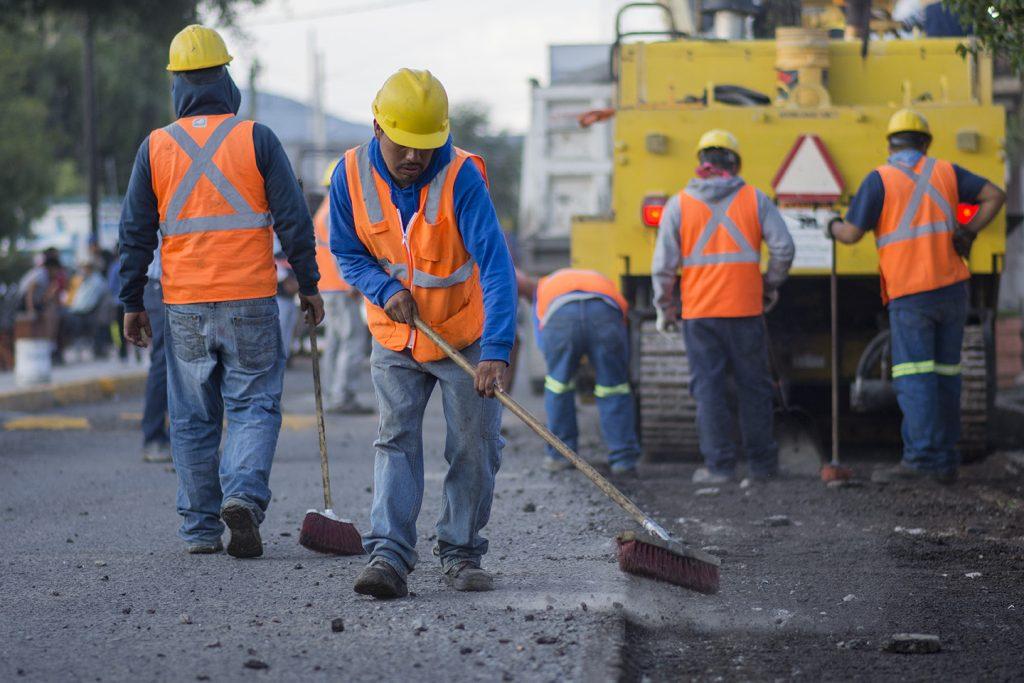 Con recursos estatales se ejecuntan estas obras por parte del municipio