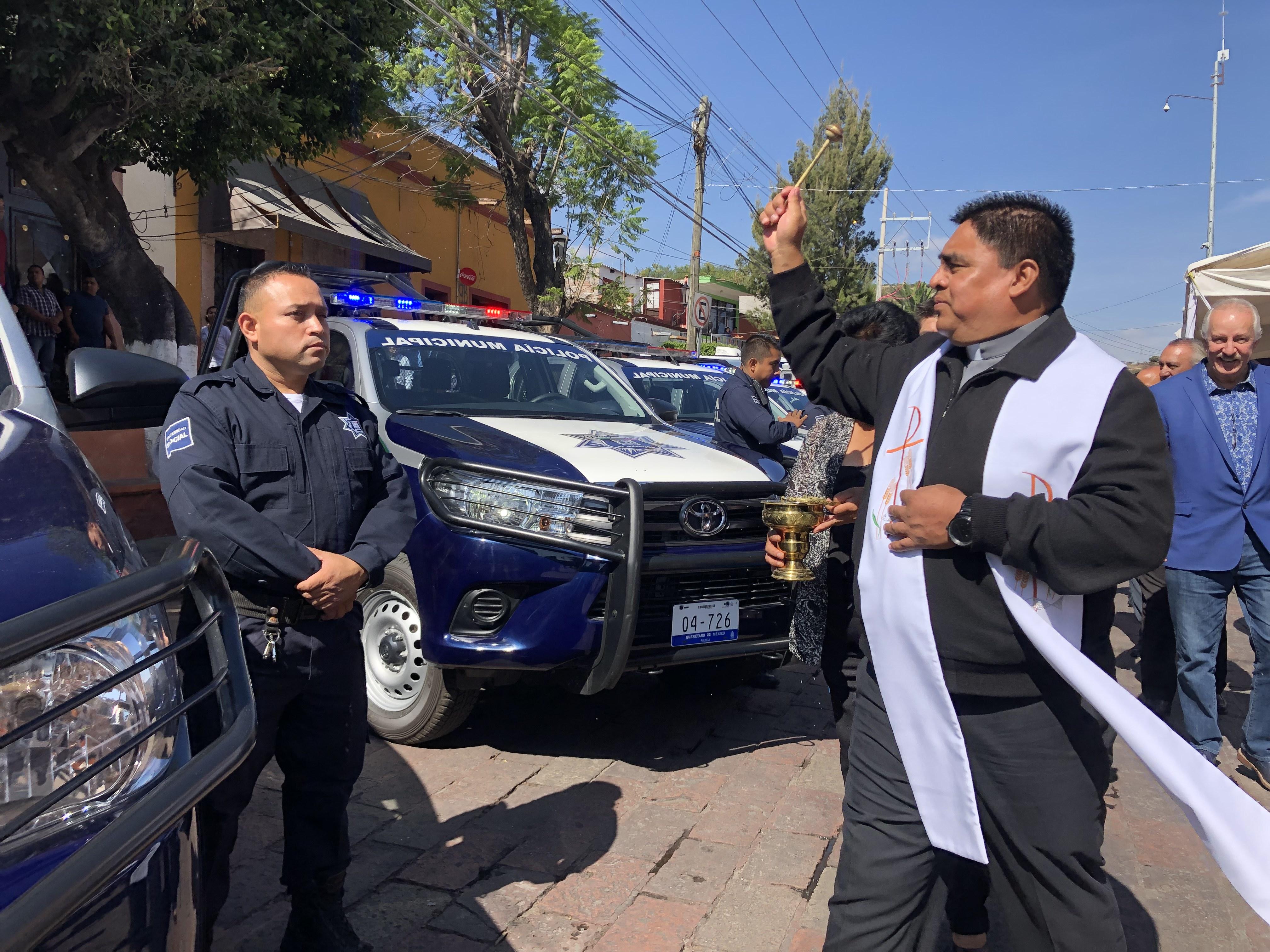 Entrega El Marqués 30 patrullas a la Secretaría de Seguridad Pública