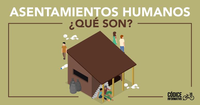 Asentamientos humanos ¿Qué son?