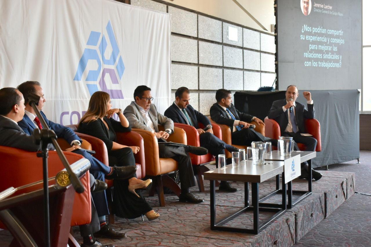 Autoridades, empresas y sindicatos coinciden en Foro Laboral Coparmex Querétaro