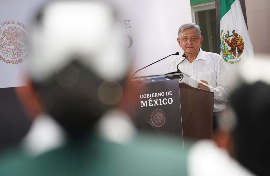 Lopez Obrador announce initiative to create a Health Institute for Wellbeing