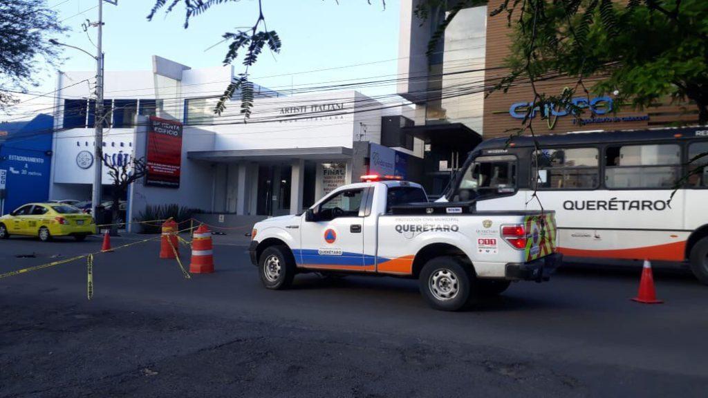 protección civil socavón