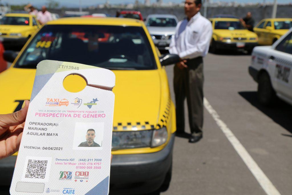 Taxi seguro.