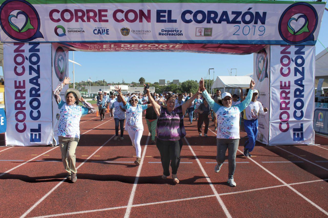 Habitantes de Querétaro, entre los que más tiempo dedican al ejercicio físico