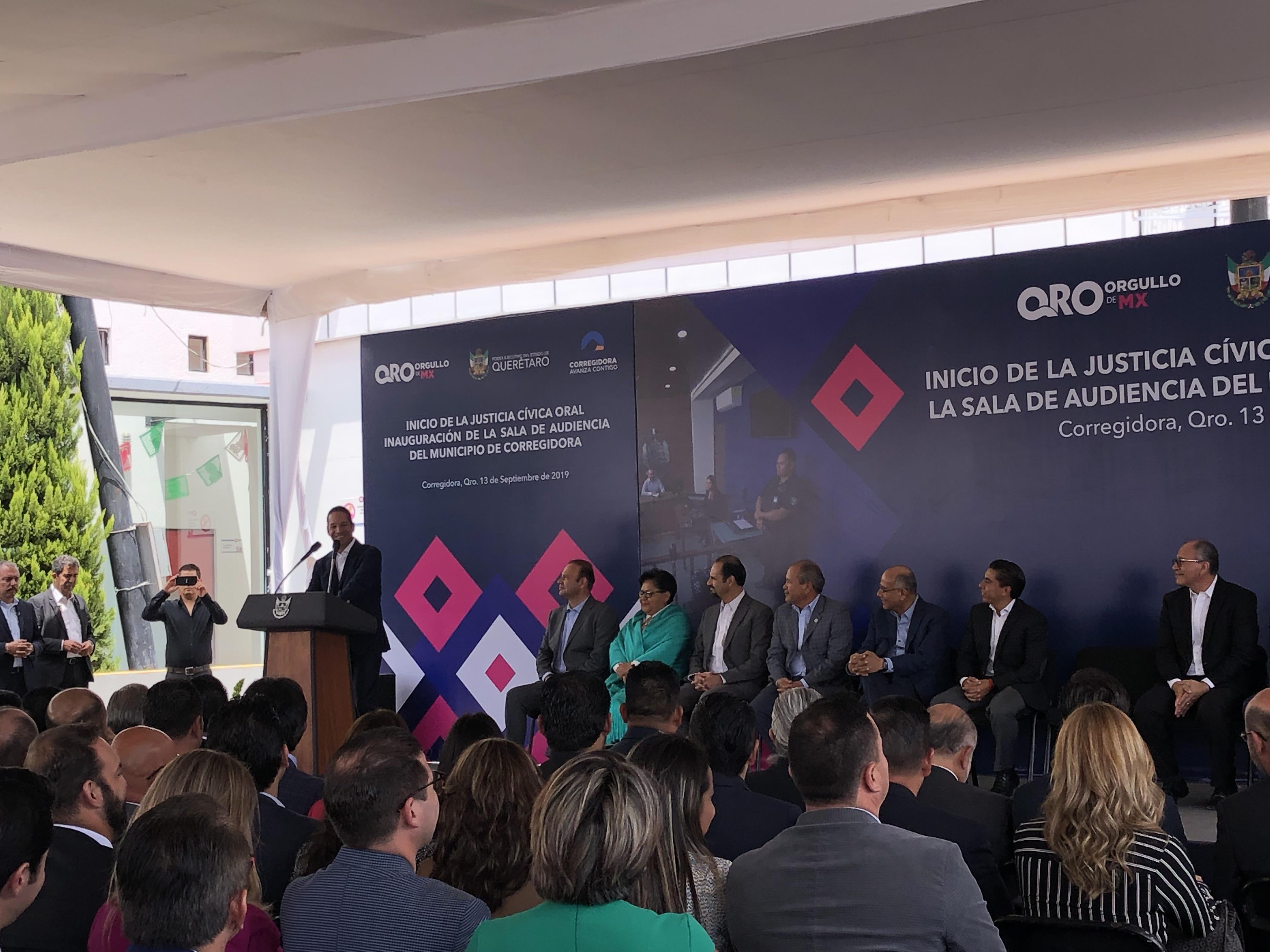 Arranca Justicia Cívica Oral en Corregidora