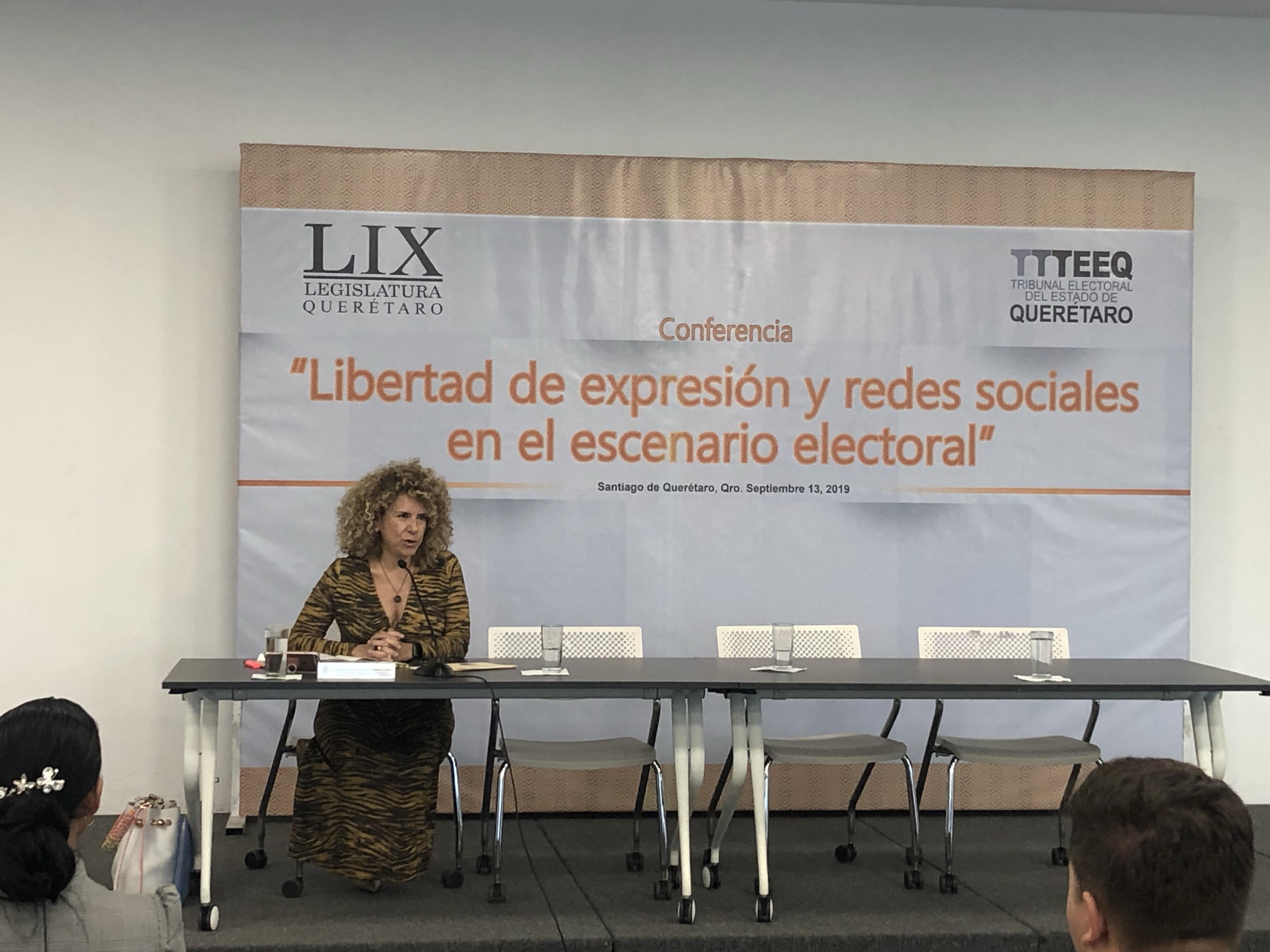 Redes sociales no son armas, sino herramientas para fortalecer procesos electorales