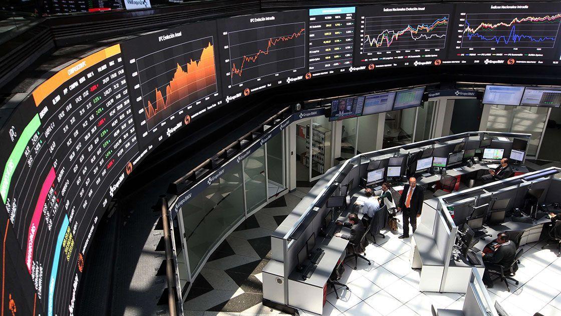 Suspenden actividades en la Bolsa Mexicana de Valores