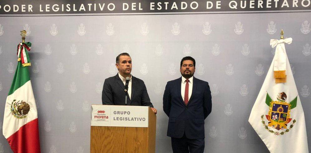 Diputados de Morena Mauricio Ruiz y Domínguez