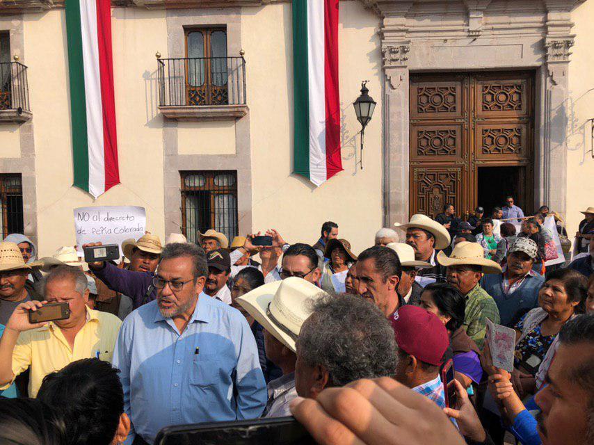 Ejidatarios Peña Colorada