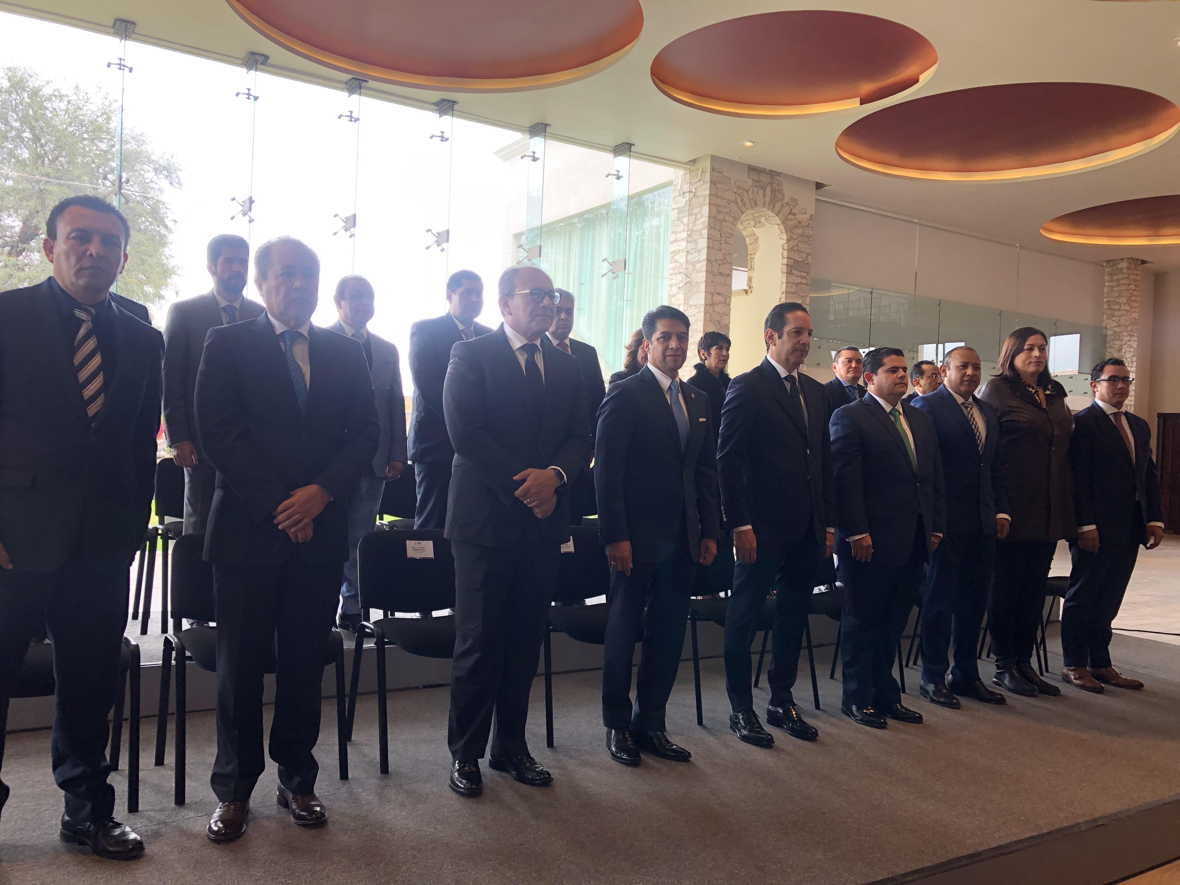 Arranca en Querétaro 2ª reunión nacional de tribunales superiores de justicia