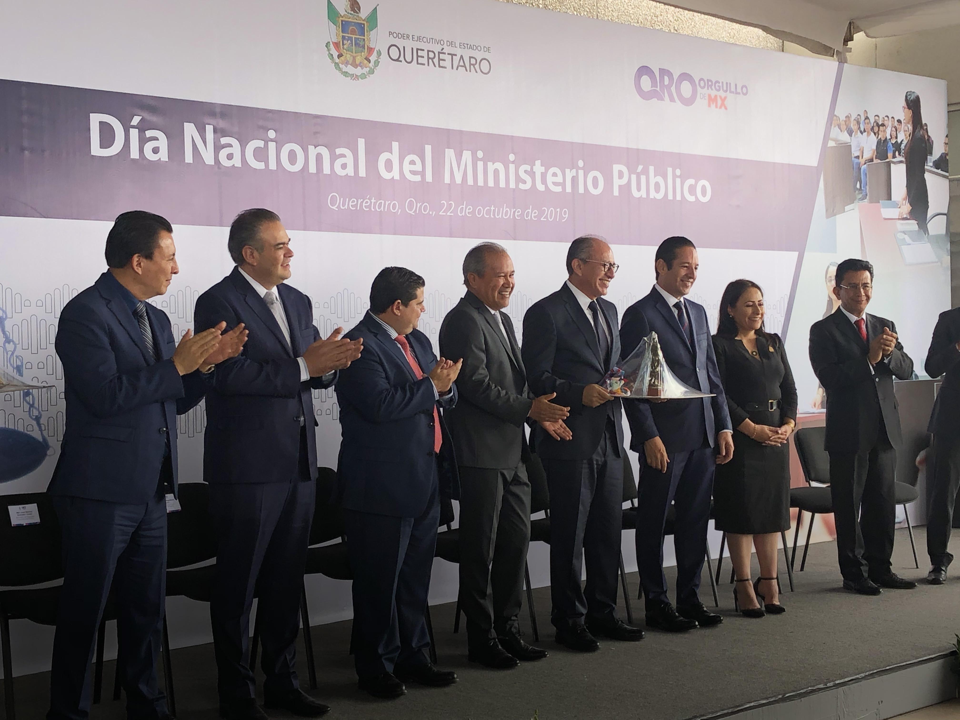 Fiscalía de Querétaro es la tercera más efectiva en investigación a nivel nacional: Pancho