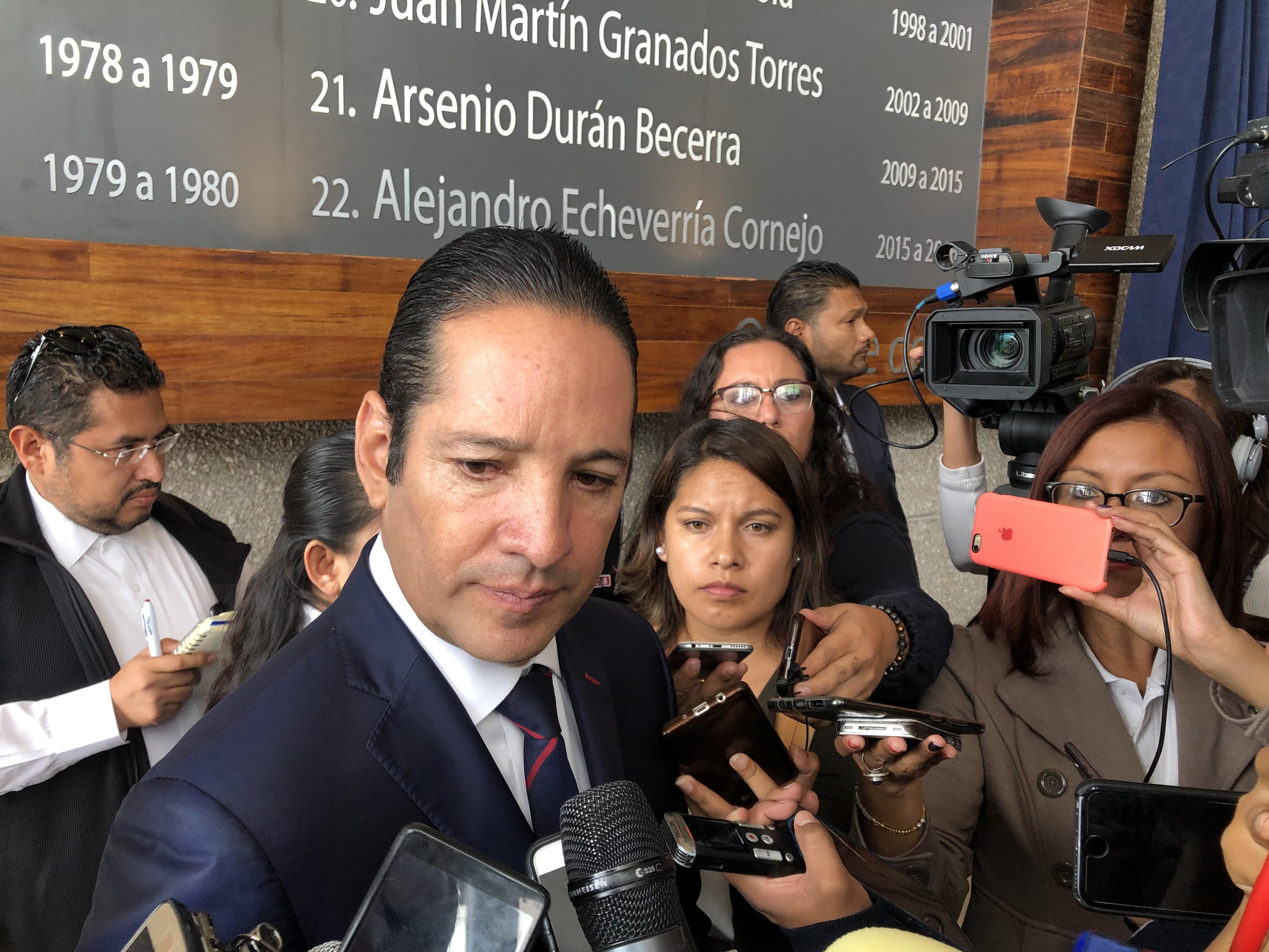 Descarta Pancho Domínguez manifestarse en Palacio Nacional