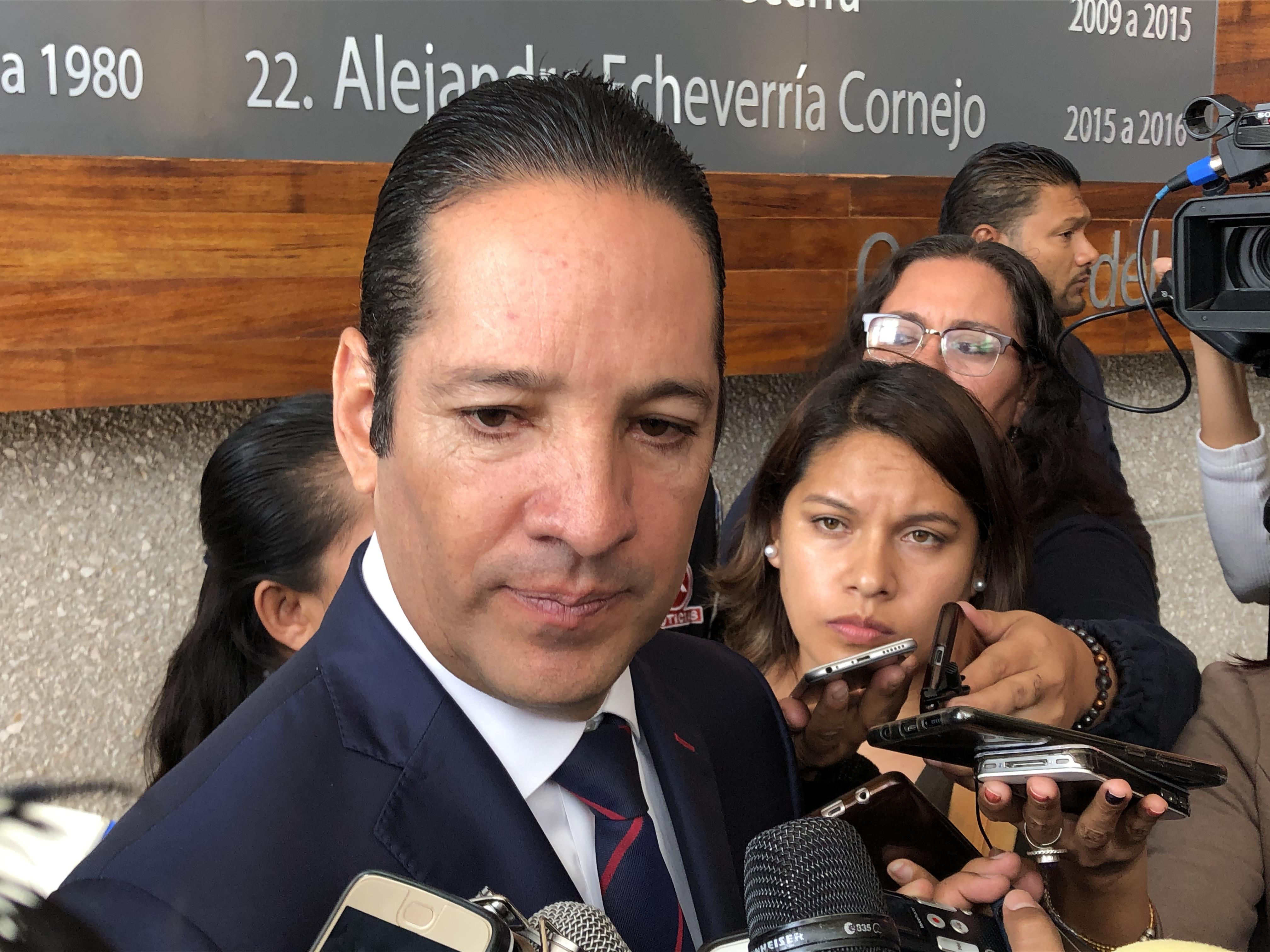 Respalda Pancho Domínguez a Fuerzas Armadas