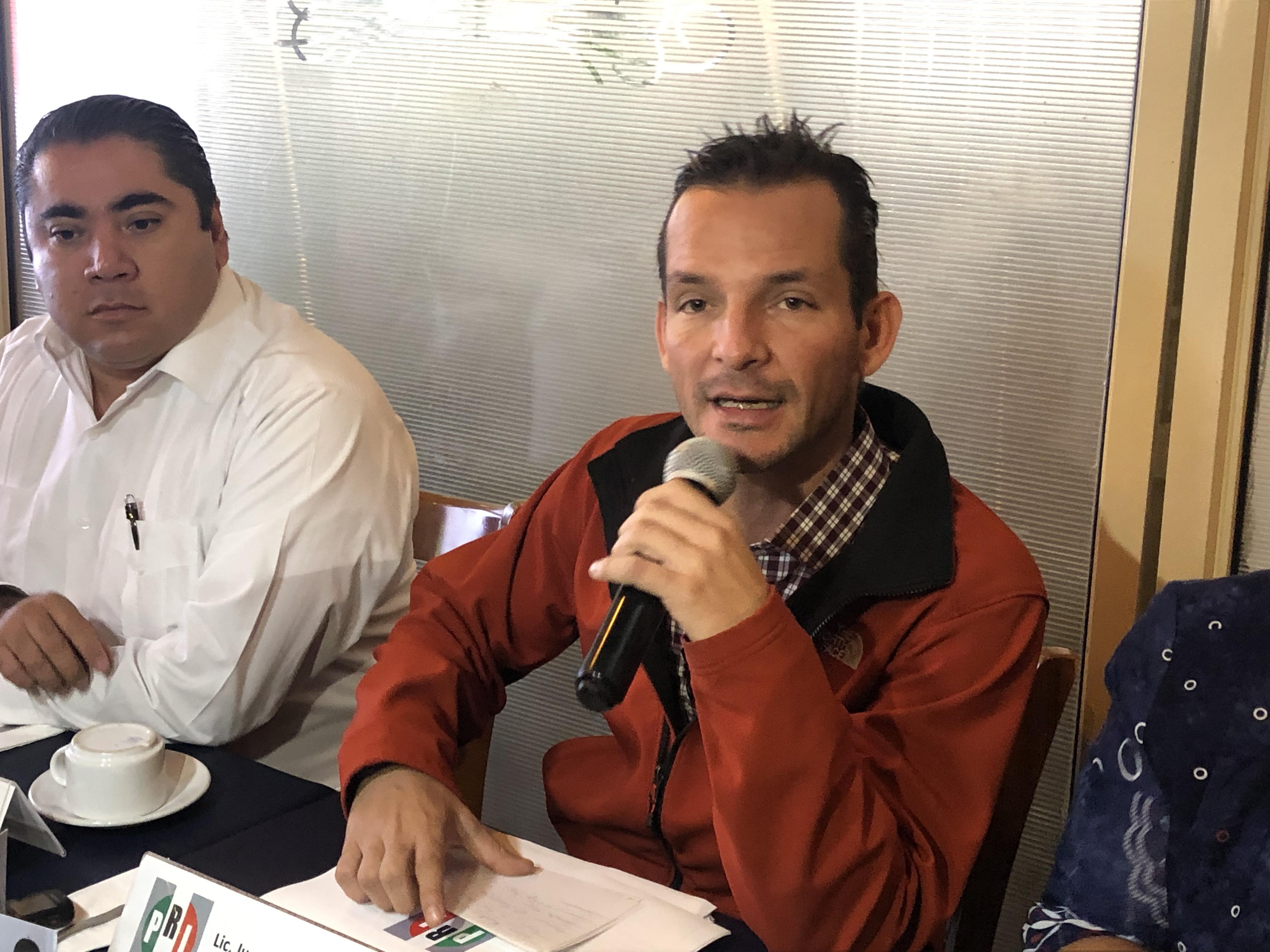 Confirma Paul Ospital procedimiento para expulsar a Juan José Ruiz del PRI