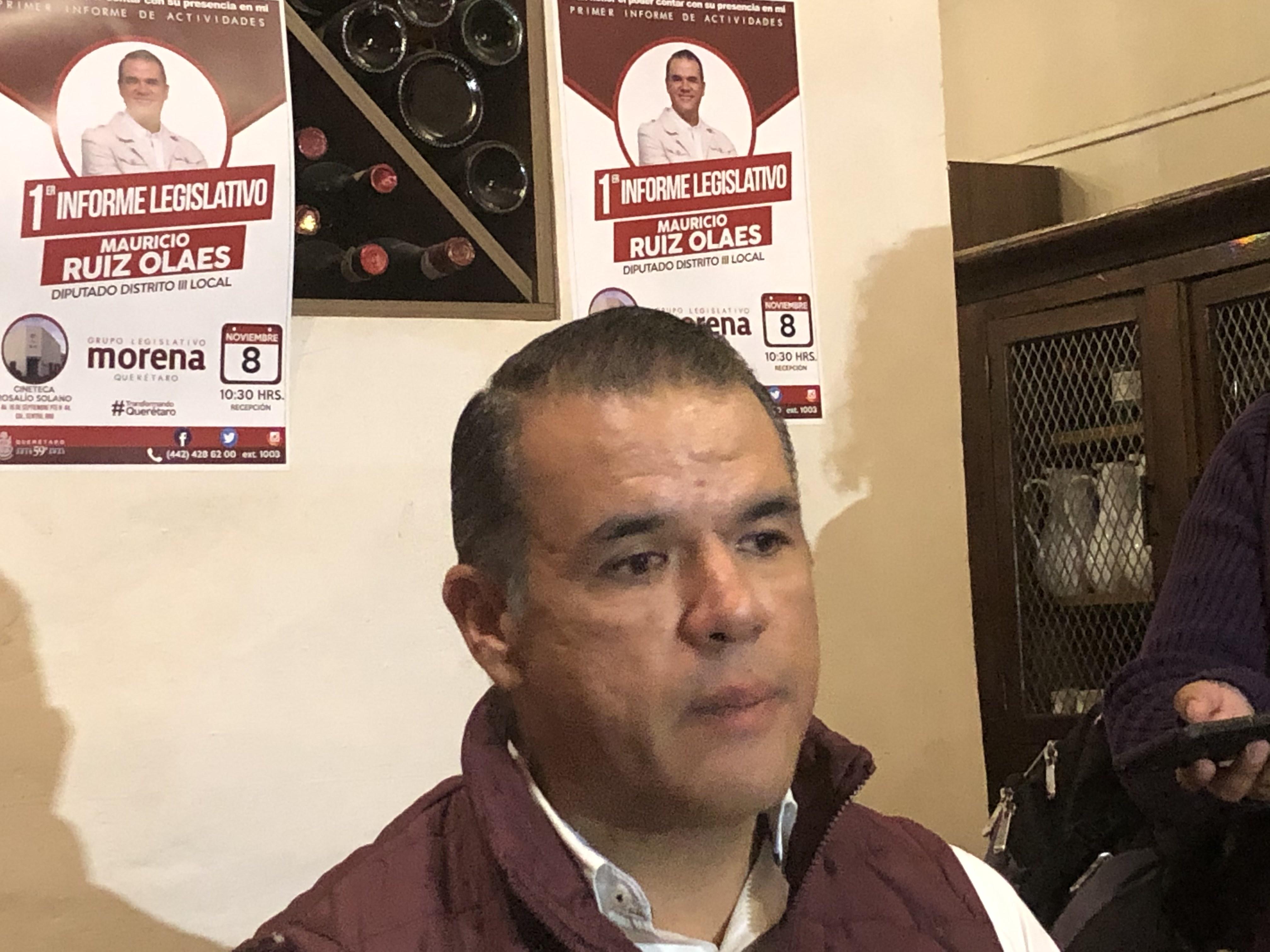 Sugiere Mauricio Ruiz Olaes que podría buscar un cargo público en 2021