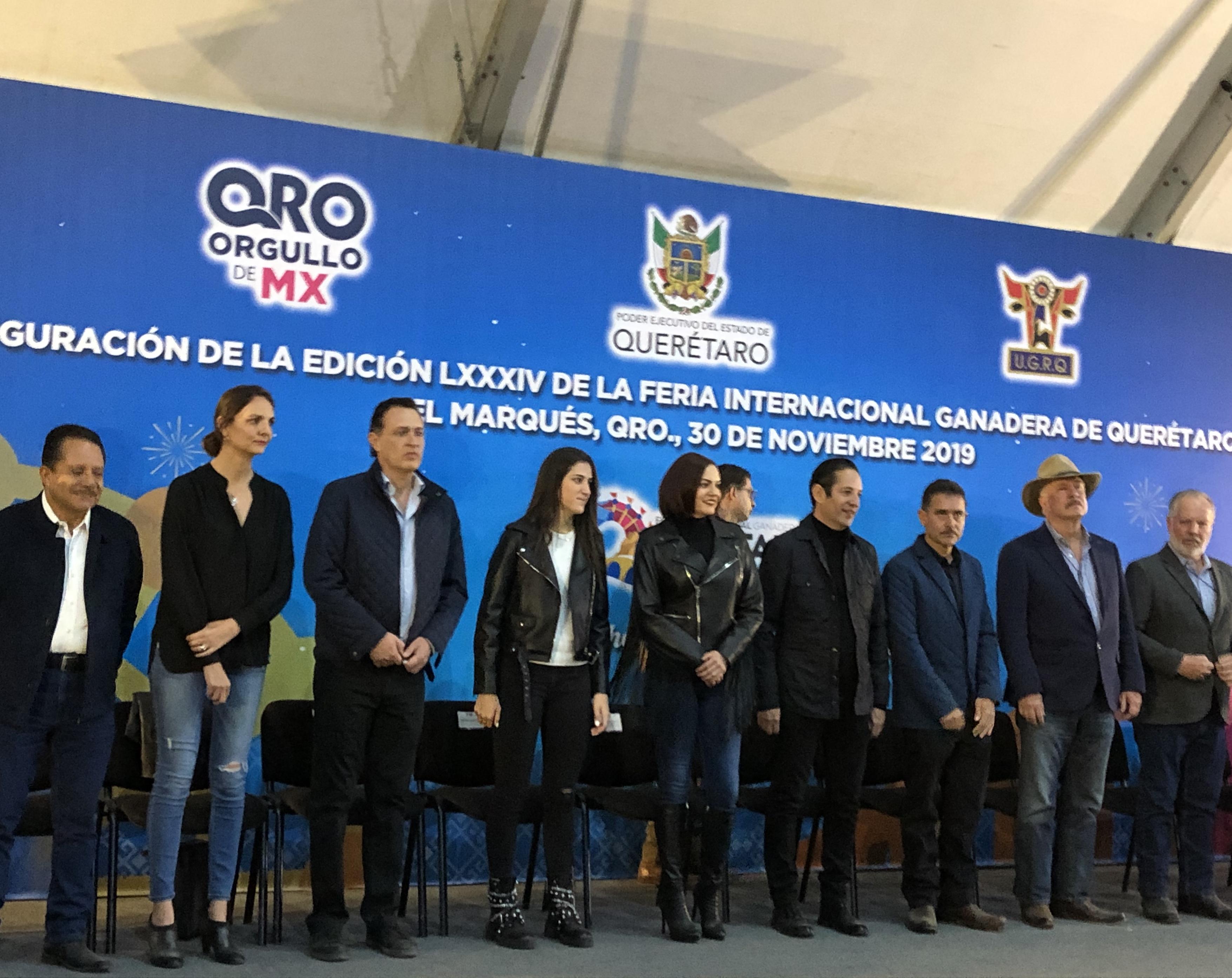 Arranca la 84a edición de la Feria Internacional Ganadera de Querétaro