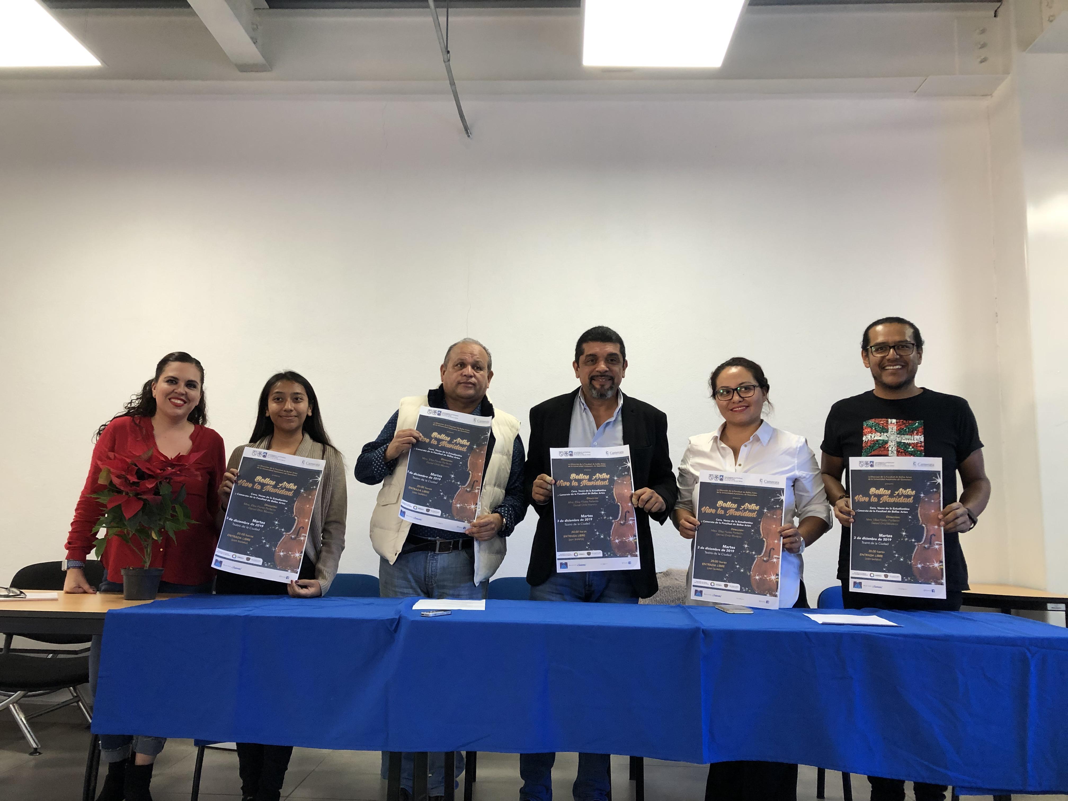 """Presentarán """"Bellas Artes Vive la Navidad"""" en el Teatro de la Ciudad"""
