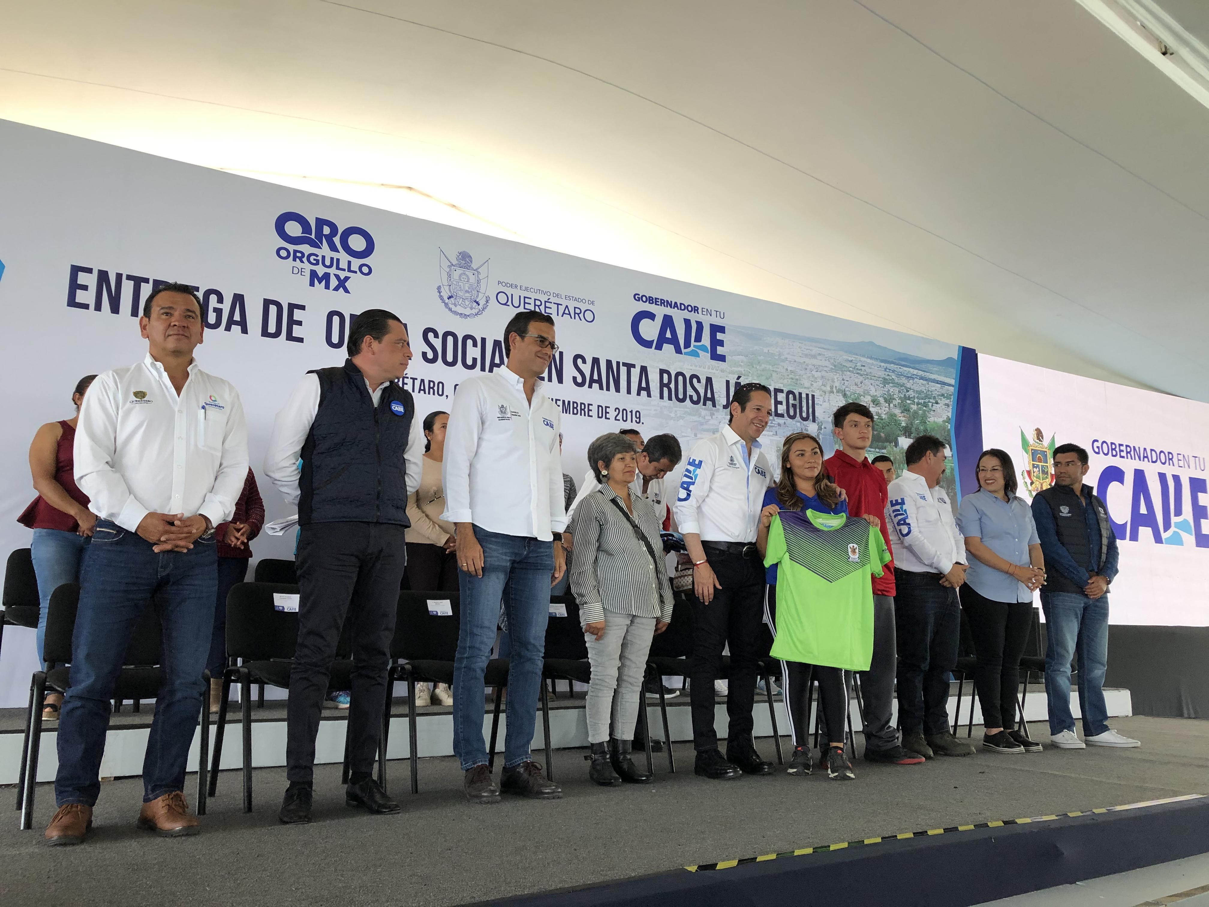 Invierten 17 millones de pesos en infraestructura deportiva para SRJ