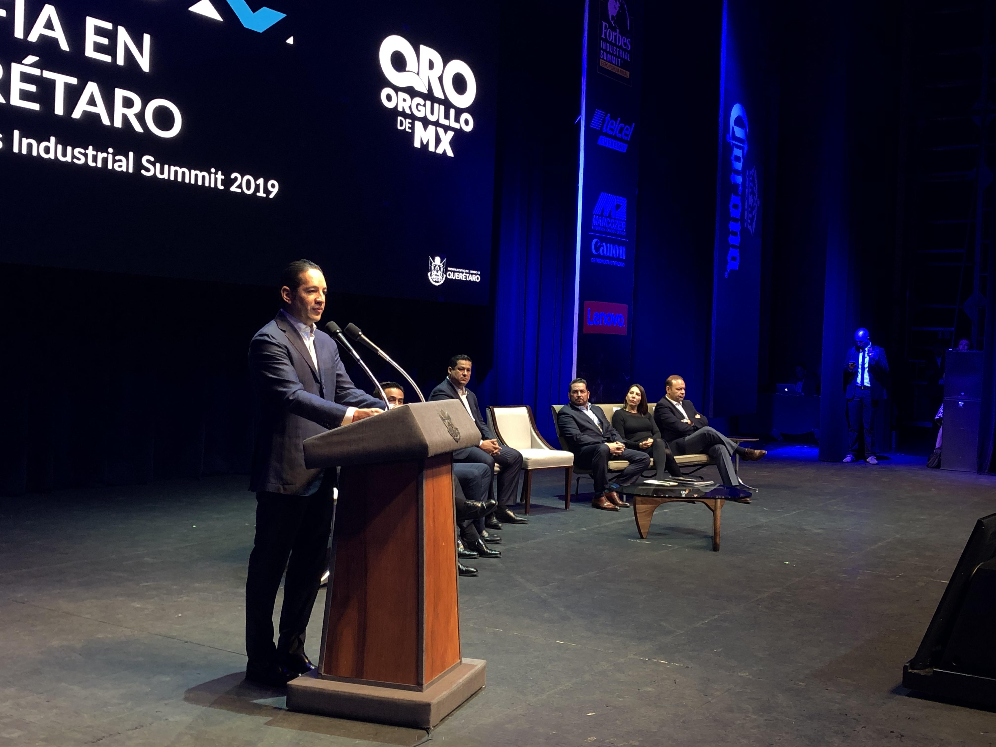 """Presentan en Querétaro el """"Forbes Industrial Summit 2019"""""""