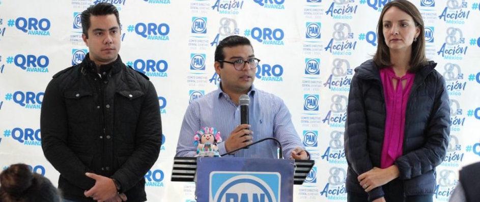 PAN Querétaro respalda a Pancho Domínguez en decisión de desconocer a la CNDH