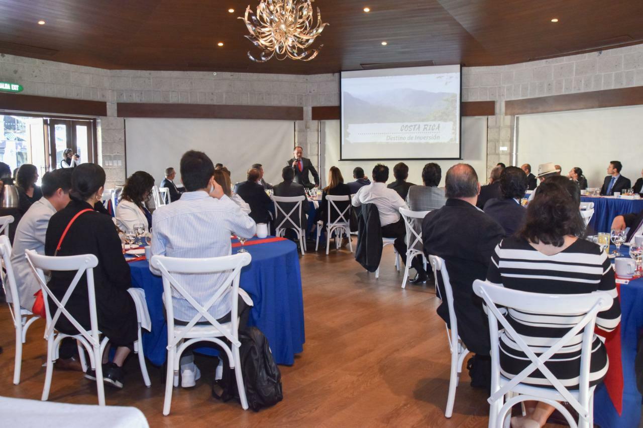 Coparmex Querétaro  firma convenio con cámara de industria y comercio de Costa Rica