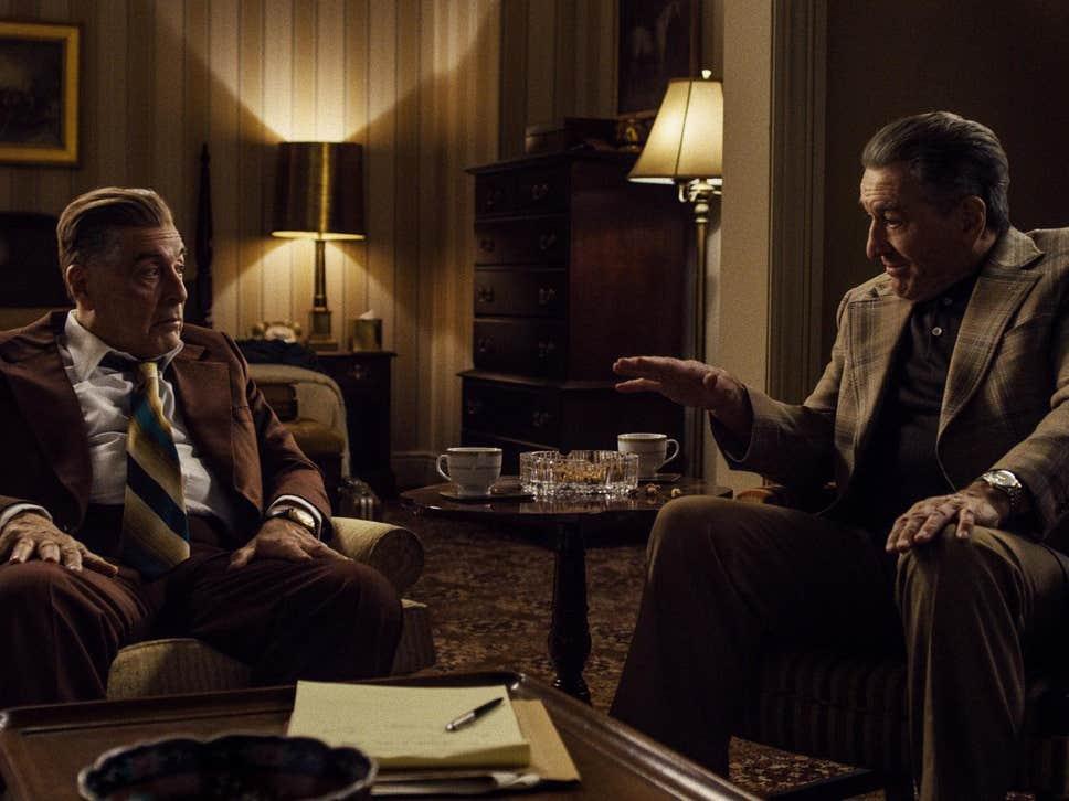 """De Niro y Pacino, hielo y fuego en """"The Irishman"""""""