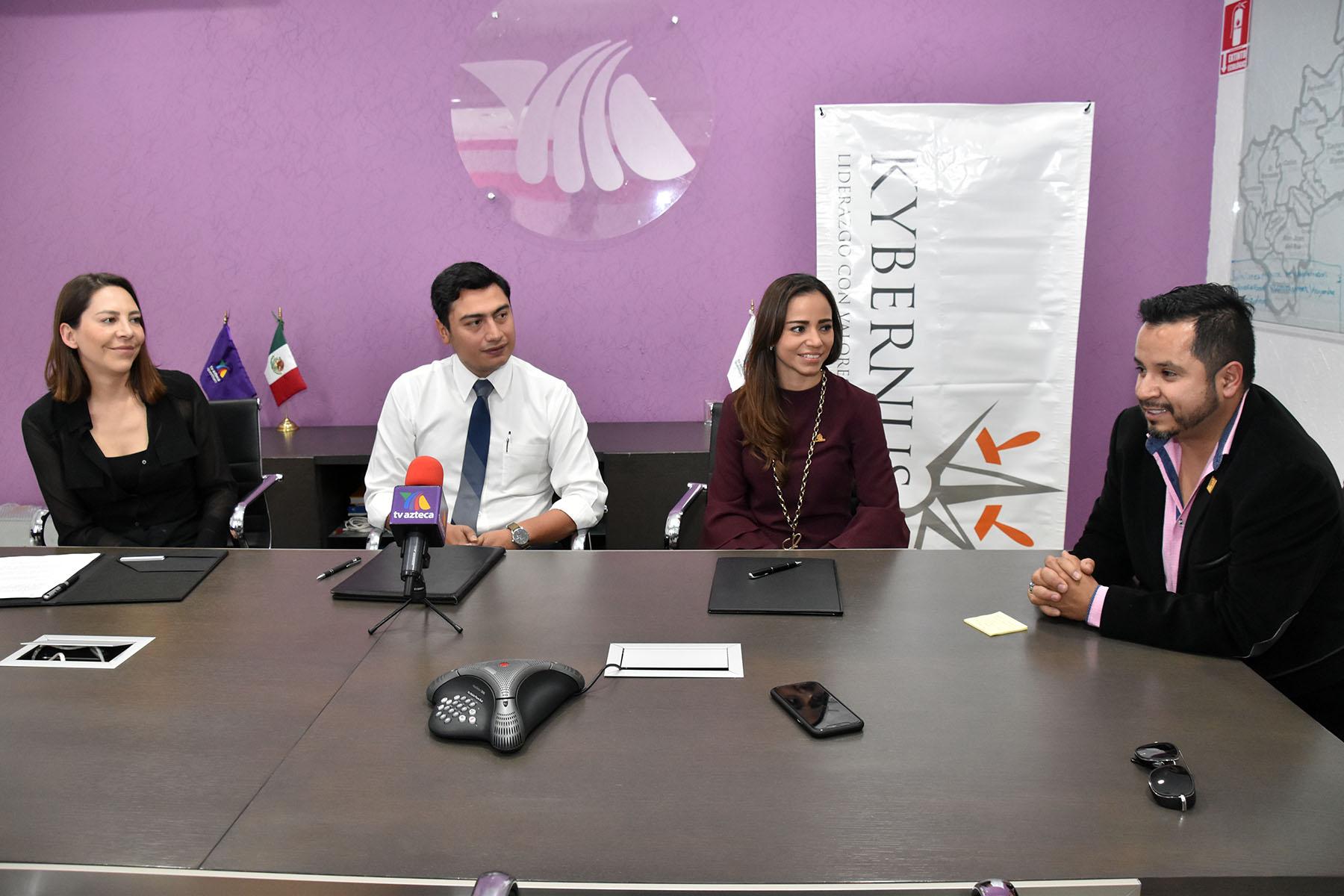 Coparmex y Kybernus firman convenio de colaboración