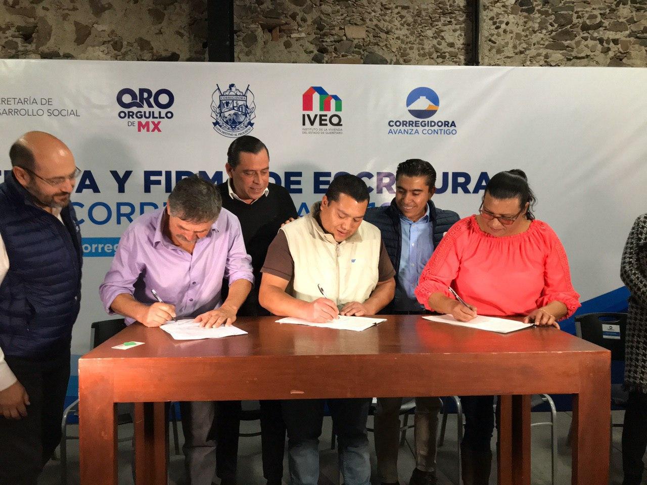 Trabaja Corregidora en la regularización de predios